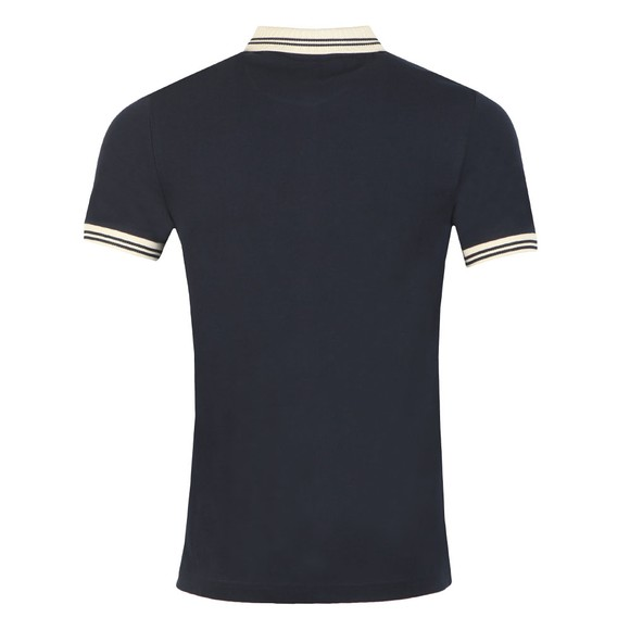 Farah Mens Blue Stanton Polo Shirt main image