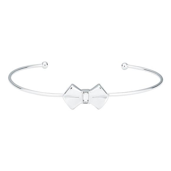 Ted Baker Womens Silver Sakarah Bow Cuff