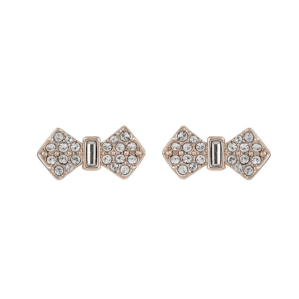 Sersi Solitaire Bow Stud Earring main image