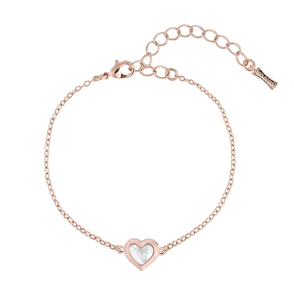Heleem Mother of Pearl Heart Bracelet main image