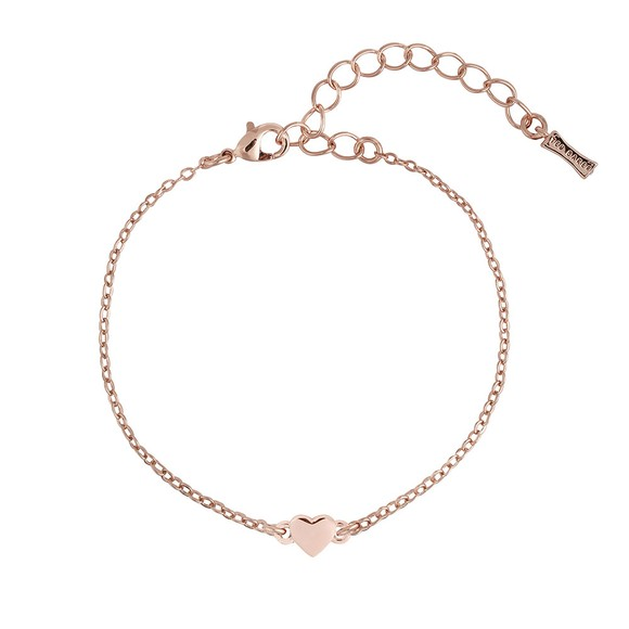 Ted Baker Womens Pink Harsaa Tiny Heart Bracelet