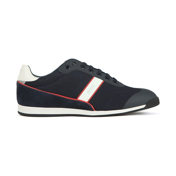 BOSS Mens Blue Glaze Lowp Mewt Trainer