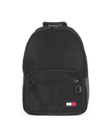 Tommy Hilfiger Mens Black Flag Backpack