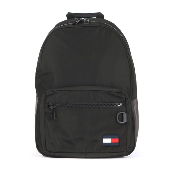 Tommy Hilfiger Mens Black Flag Backpack