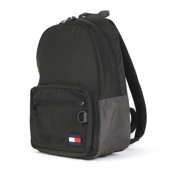 Tommy Hilfiger Mens Black Flag Backpack main image