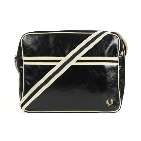Fred Perry Mens Black Classic Shoulder Bag