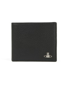 Vivienne Westwood Anglomania Mens Black Milano Man Billfold