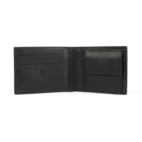 Tommy Hilfiger Mens Black Business  Leather Coin Wallet main image