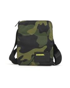 Diesel Mens Black F-Discover Man Bag