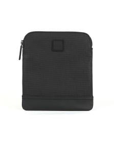 BOSS Mens Black Hyper P_S Zip Man Bag