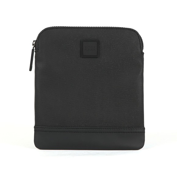 BOSS Mens Black Hyper P_S Zip Man Bag