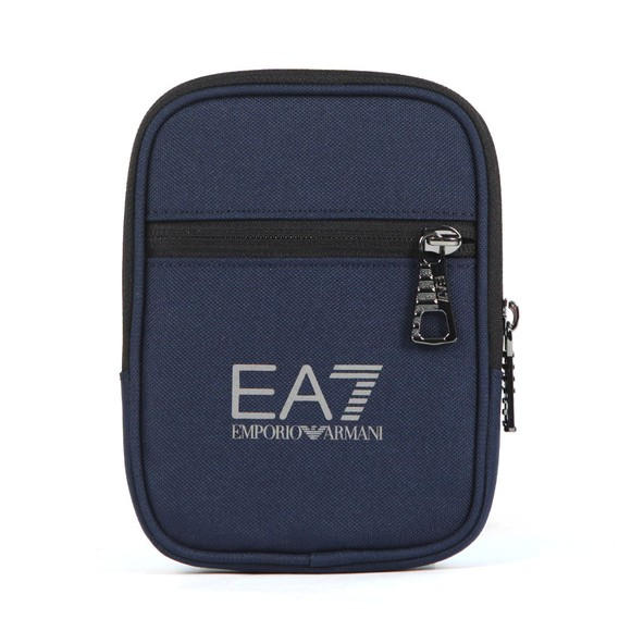 EA7 Emporio Armani Mens Blue Train Mini Pouch Bag