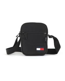 Tommy Hilfiger Mens Black Mini Reporter Bag