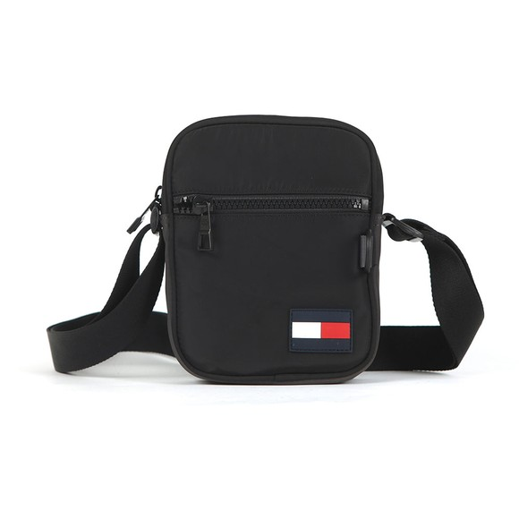 Tommy Hilfiger Mens Black Mini Reporter Bag