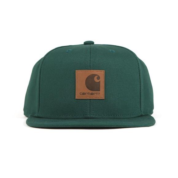 Carhartt WIP Mens Green Logo Cap