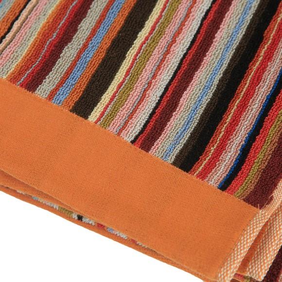 PS Paul Smith Mens Multicoloured Multi Stripe Towel