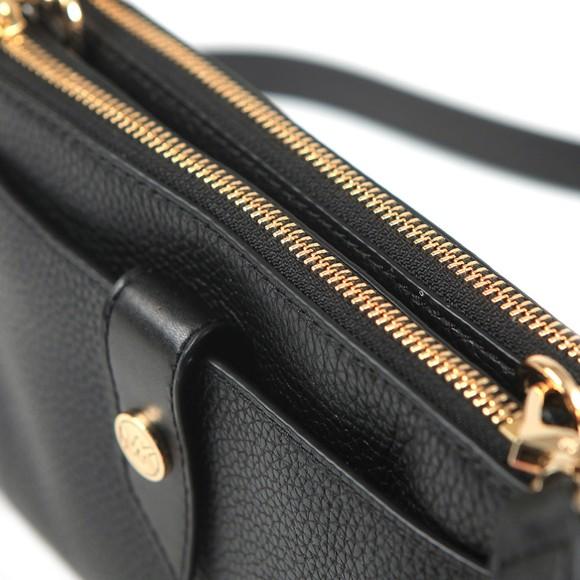 Michael Kors Womens Black Charm Crossbody Bag main image