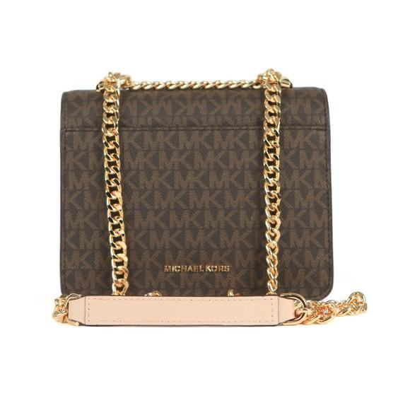 Michael Kors Womens Brown Jade Small Tote Bag main image