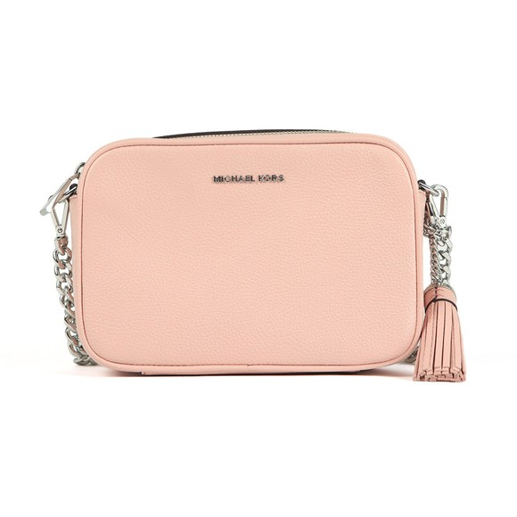 Michael Kors Womens Pink Ginny Mid Camera Bag