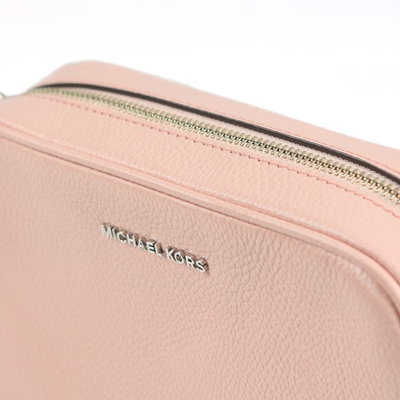 Michael Kors Womens Pink Ginny Mid Camera Bag main image