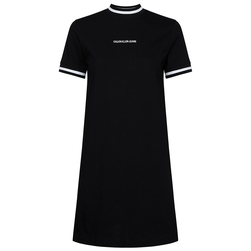 Neck And Cuff Tipping T-Shirt Dress main image