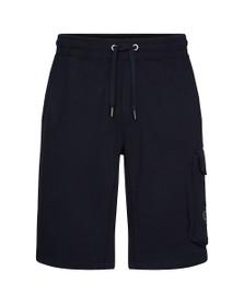Calvin Klein Jeans Mens Blue Monogram Sweat Short