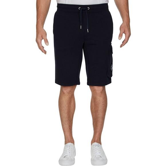 Calvin Klein Jeans Mens Blue Monogram Sweat Short main image