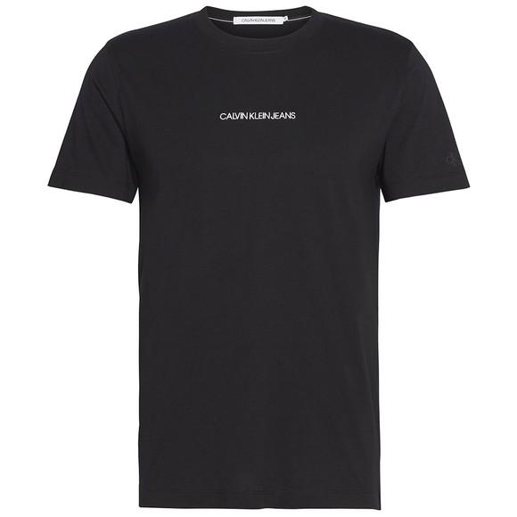 Calvin Klein Jeans Mens Black Chest Logo T-Shirt