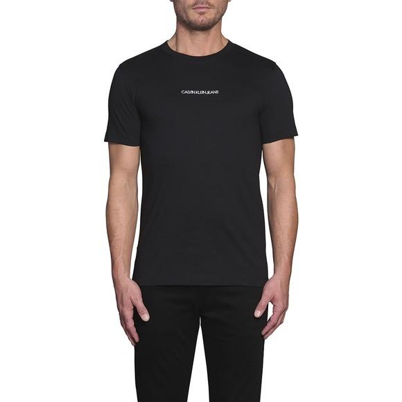 Calvin Klein Jeans Mens Black Chest Logo T-Shirt main image