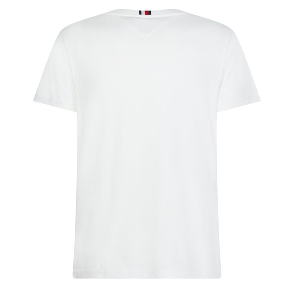 Tommy Hilfiger Mens White Squares T-Shirt main image