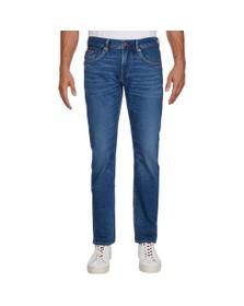 Tommy Hilfiger Mens Blue Bleecker Flex Jean