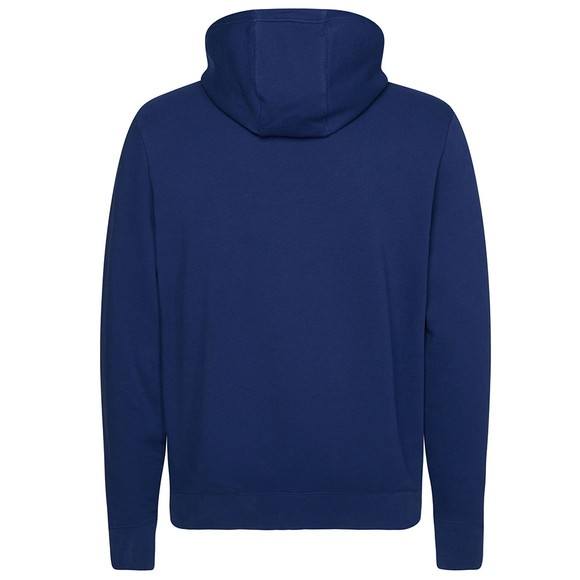 Tommy Hilfiger Mens Blue Embroidered Hoodie main image