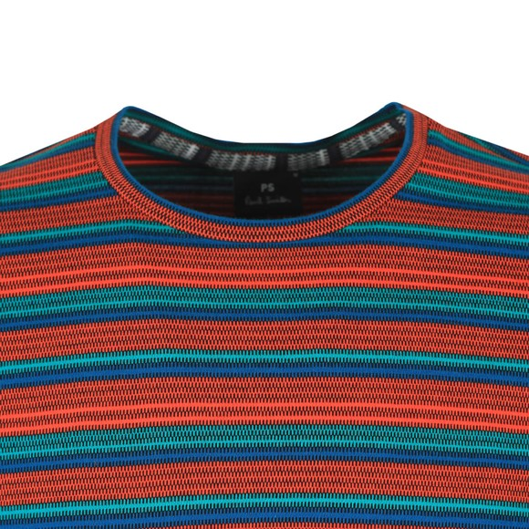 PS Paul Smith Mens Orange Stripe T-Shirt