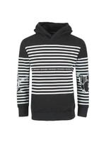 Striped Buddha Hoody