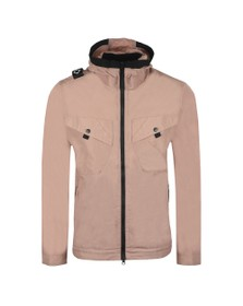 Ma.Strum Mens Pink NT2 Hooded Jacket