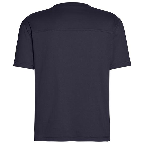 Calvin Klein Jeans Mens Blue Sleeve Badge T-Shirt main image