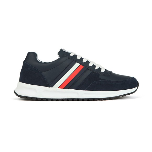 Tommy Hilfiger Mens Blue Modern Corporate Trainer
