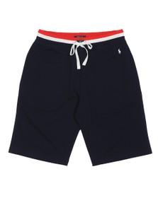 Polo Ralph Lauren Mens Blue Tri Colour Waist Jog Short