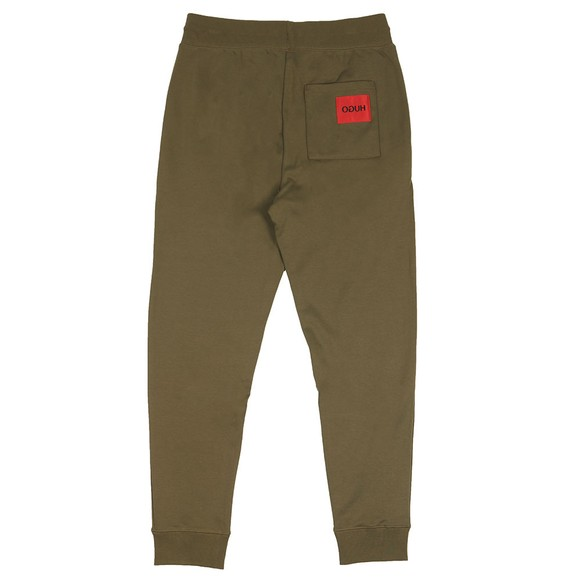 HUGO Mens Green Deasty Jogger