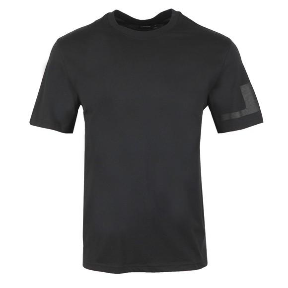 J.Lindeberg Mens Black Jordan Distinct T-Shirt