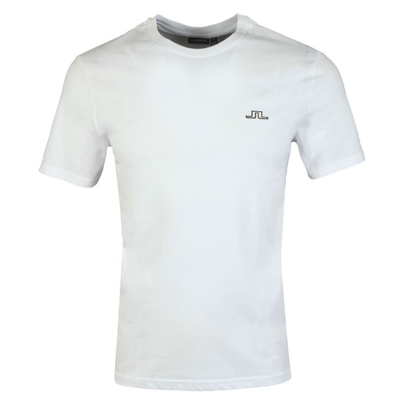 J.Lindeberg Mens White Bridge T-Shirt