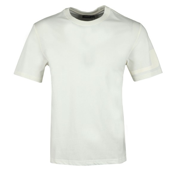 J.Lindeberg Mens White Jordan Distinct T-Shirt