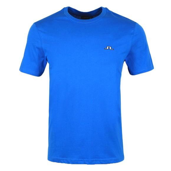 J.Lindeberg Mens Blue Bridge T-Shirt