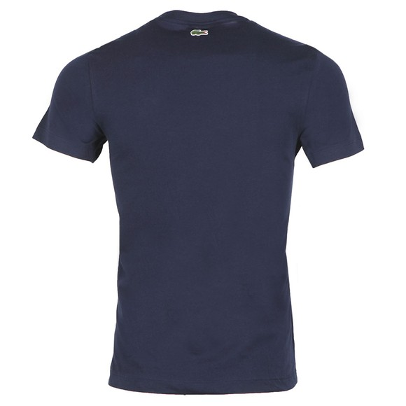 Lacoste Mens Blue TH5097 T-Shirt main image