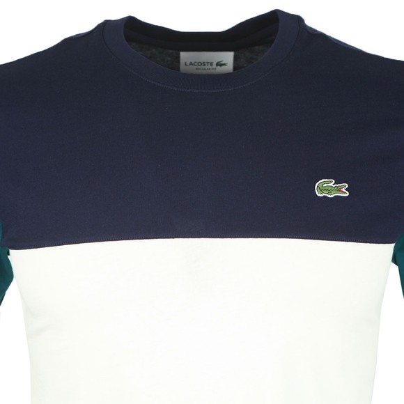 Lacoste Mens Blue TH5103 T-Shirt main image