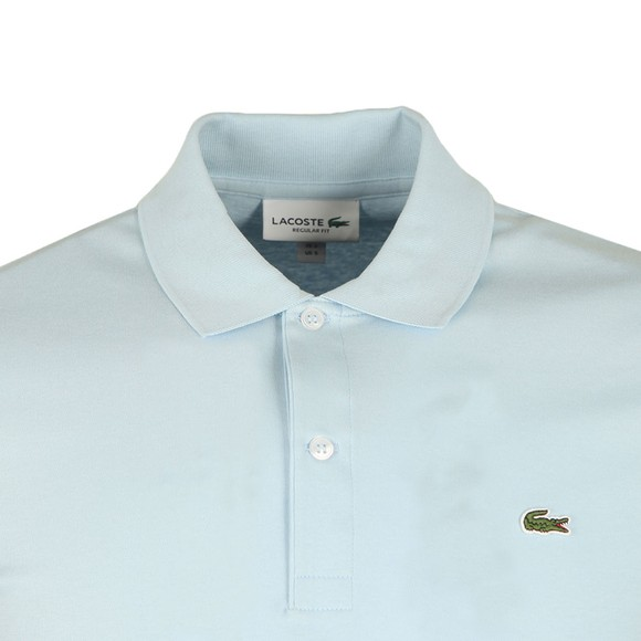 Lacoste Mens Blue DH2050 Polo Shirt main image