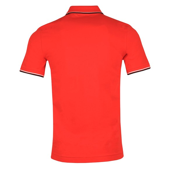Lacoste Sport Mens Red Tipped Polo Shirt main image