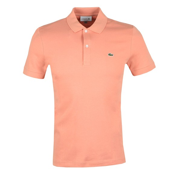 Lacoste Mens Pink DH2050 Polo main image