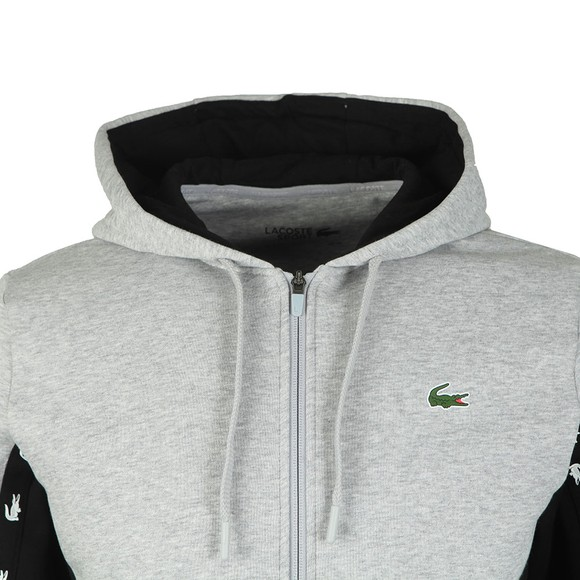 Lacoste Sport Mens Grey SH4817 Full Zip Sweatshirt main image