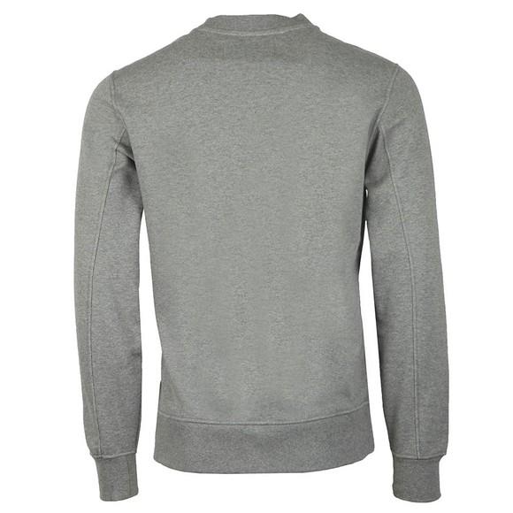 Calvin Klein Jeans Mens Grey Logo Crew Sweatshirt main image